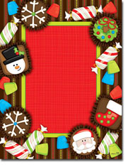 Paper So Pretty - Blank Designer Papers (Christmas Goodies) (DP946)